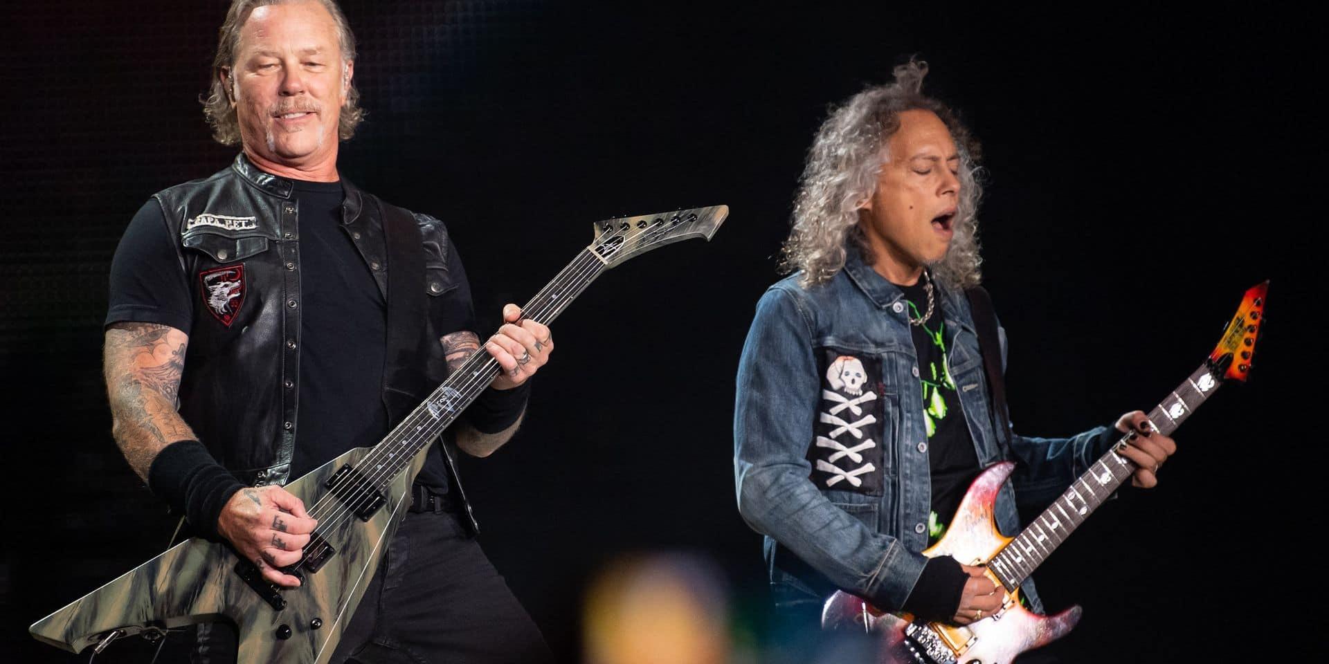 Mauvaise nouvelle pour les fans de Metallica: le leader du groupe en cure de désintox