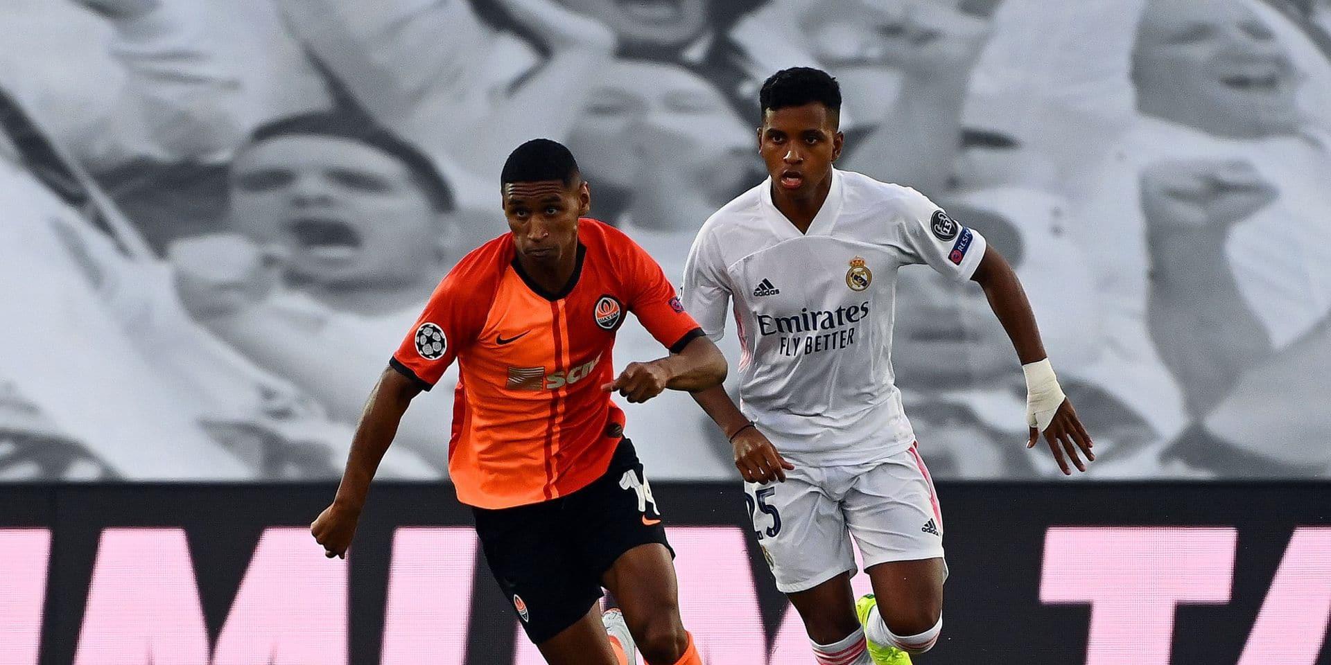 Champions League: après une première mi-temps catastrophique, le Real Madrid s'incline face au Shakhtar Donetsk (2-3)