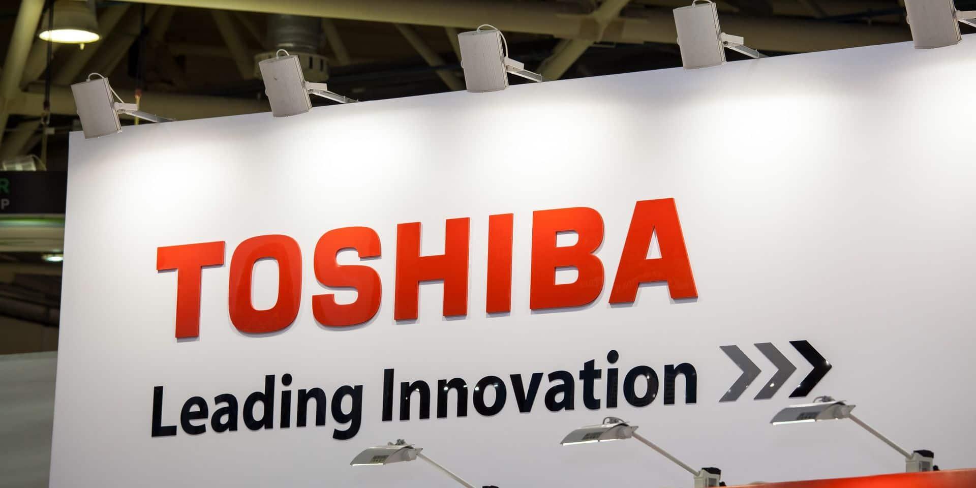 La société britannique CVC dépose une offre pour le rachat de Toshiba