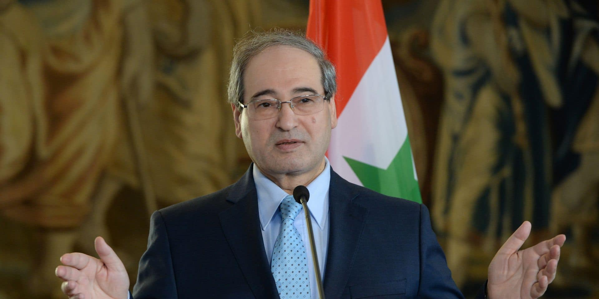 Faiçal al Moqdad, le nouveau chef de la diplomatie syrienne, un habitué des Nations Unies