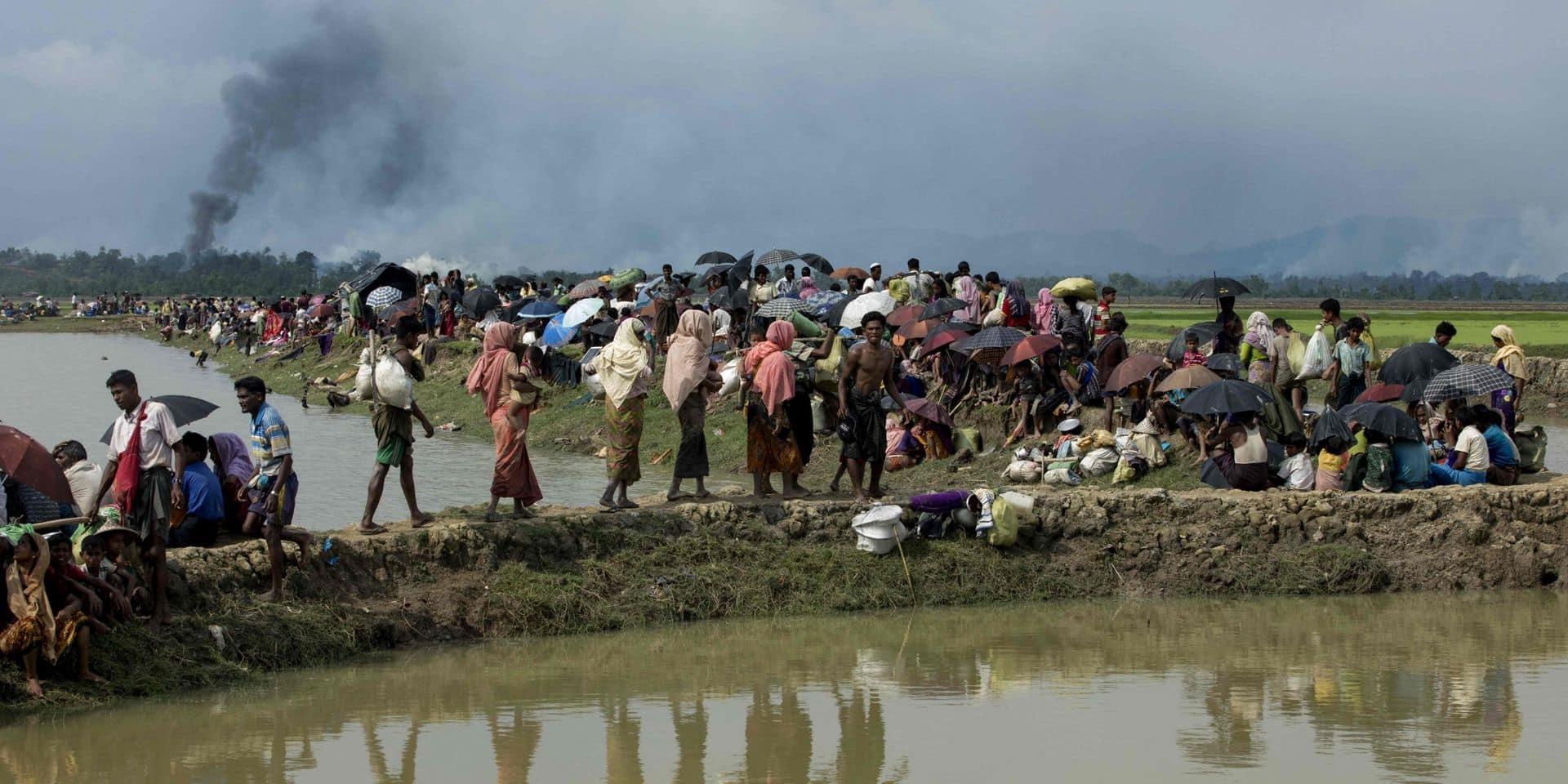 Les camps rohingyas au Bangladesh marquent le 3e anniversaire de l'exode
