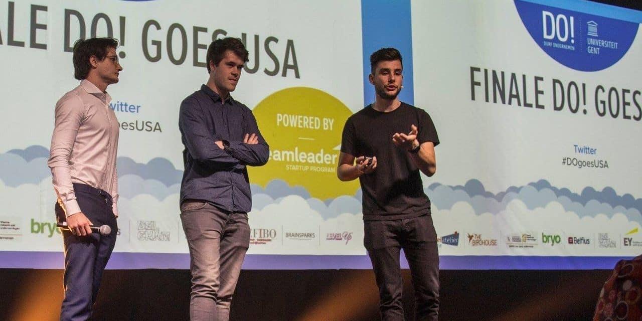 Fondée par deux étudiants, la start-up belge