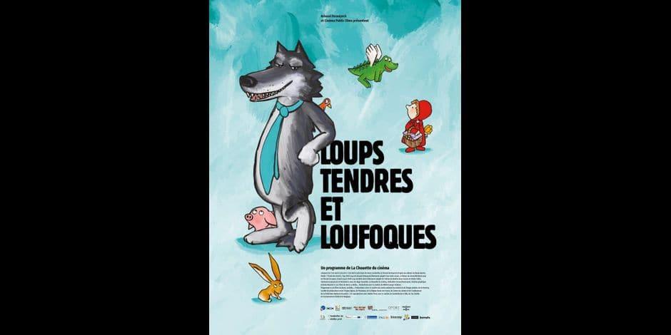"""Gagnez vos places pour l'avant-première du film """"Loups tendres et loufoques"""" le dimanche 13 octobre à 14h au cinéma Le Palace"""