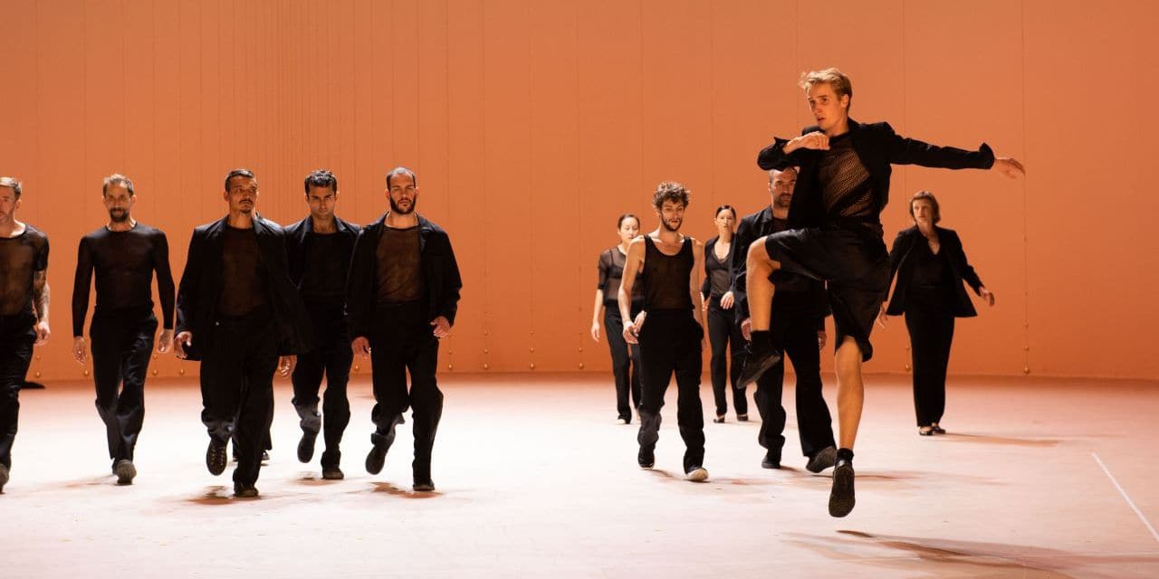 Le grand Bach, royal, d'Anne Teresa De Keersmaeker