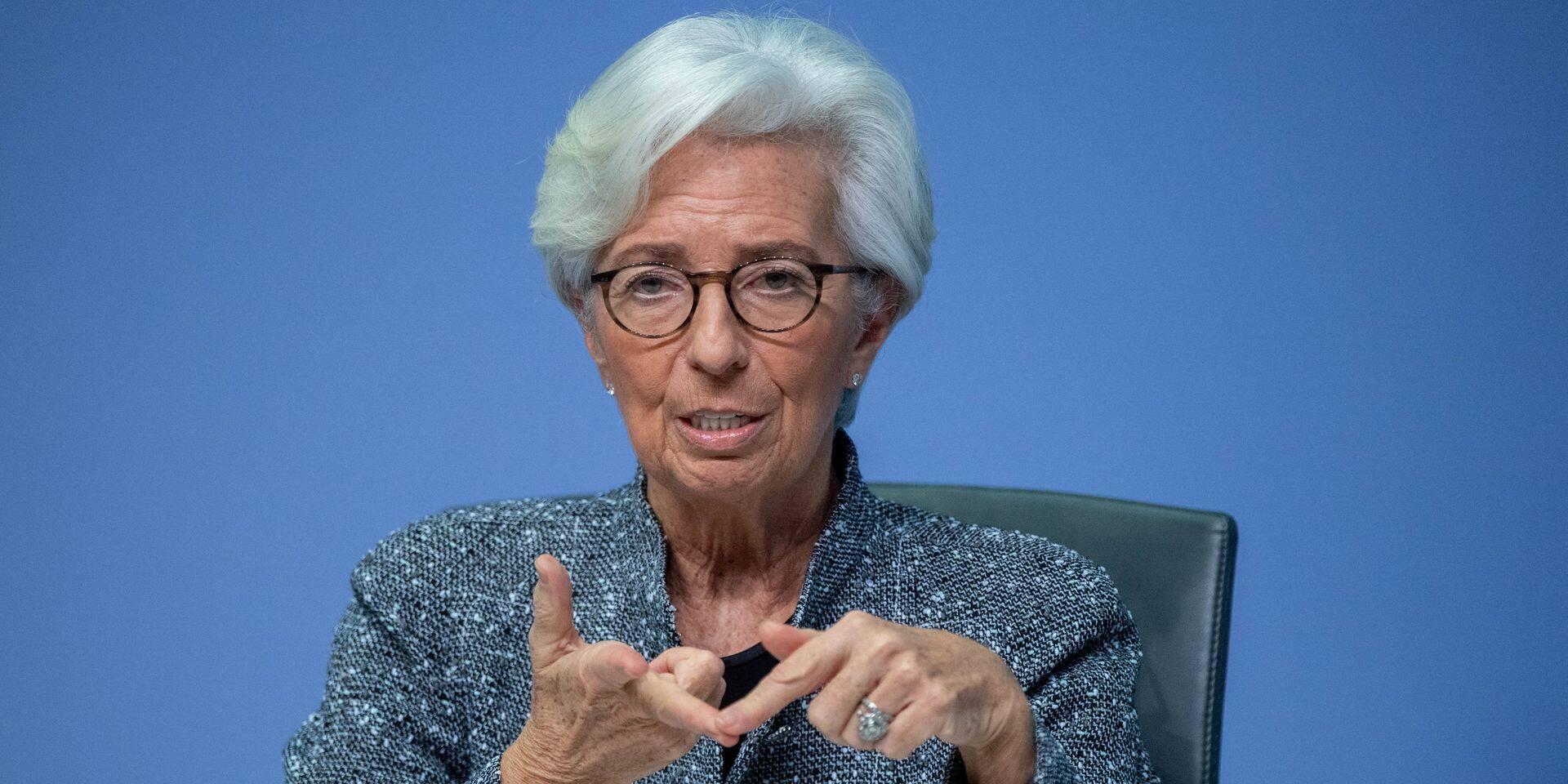 """Christine Lagarde : """"En se montrant solidaire, on sert en fait ses propres intérêts"""""""