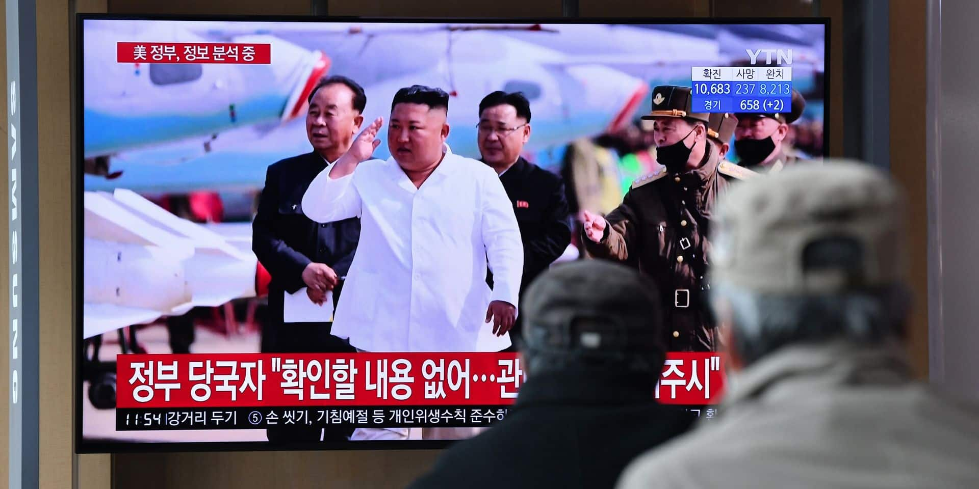Suspecté d'être dans un état grave, Kim Jong-Un a donné signe de vie