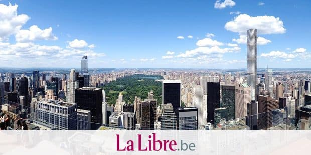 A panoramic shot taken from the Top of the Rock Observation Deck on July 24, 2015 shows the One57 building and the under-construction 432 Park Avenue overlooking Central Park in New York. Super tall, super skinny and super expensive: a new generation of New York skyscrapers, some taller than the Empire State building, are altering the world's most famous skyline. AFP PHOTO/WILLIAM EDWARDS