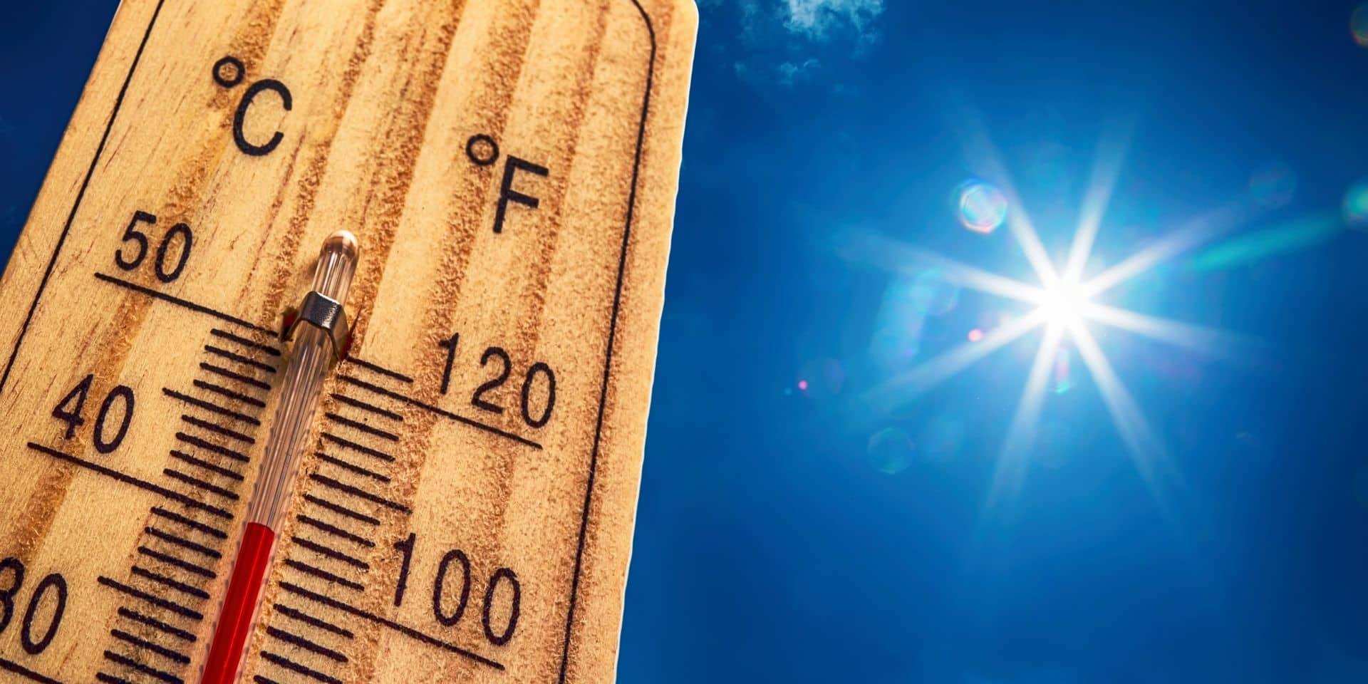 Record battu: nous avons connu la semaine la plus chaude jamais enregistrée en Belgique