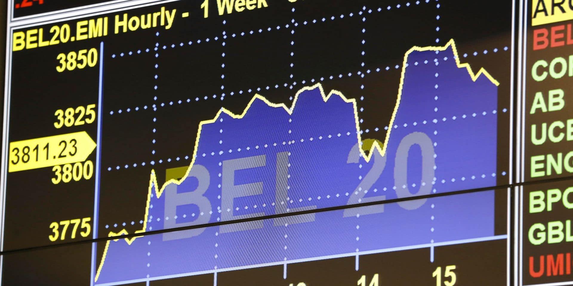 Le BEL 20 repasse au-dessus des 3 800 après une quatrième hausse consécutive
