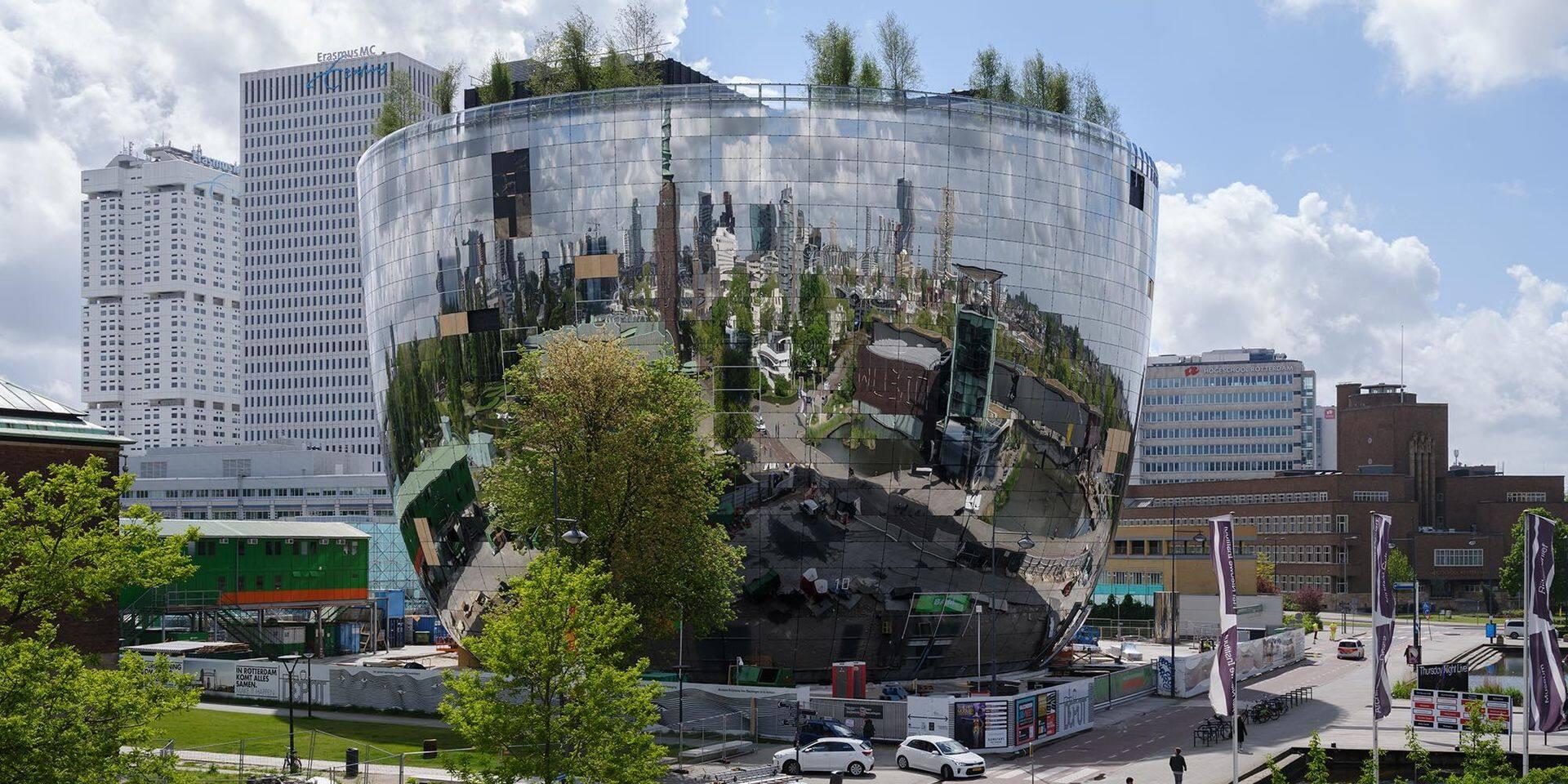 Huit milliards dans un coffre-fort argenté: le dépôt d'art de Rotterdam