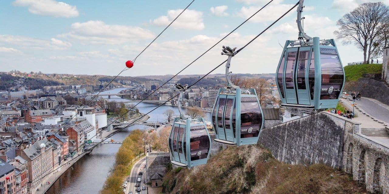 Le téléphérique se remet en mouvement à Namur