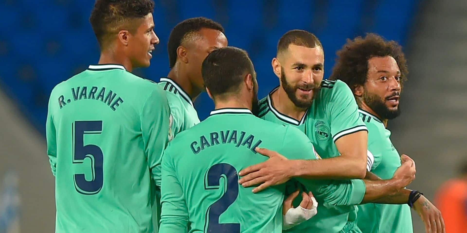 Le Real s'impose à l'espanyol et prend deux points au Barça (VIDEO)