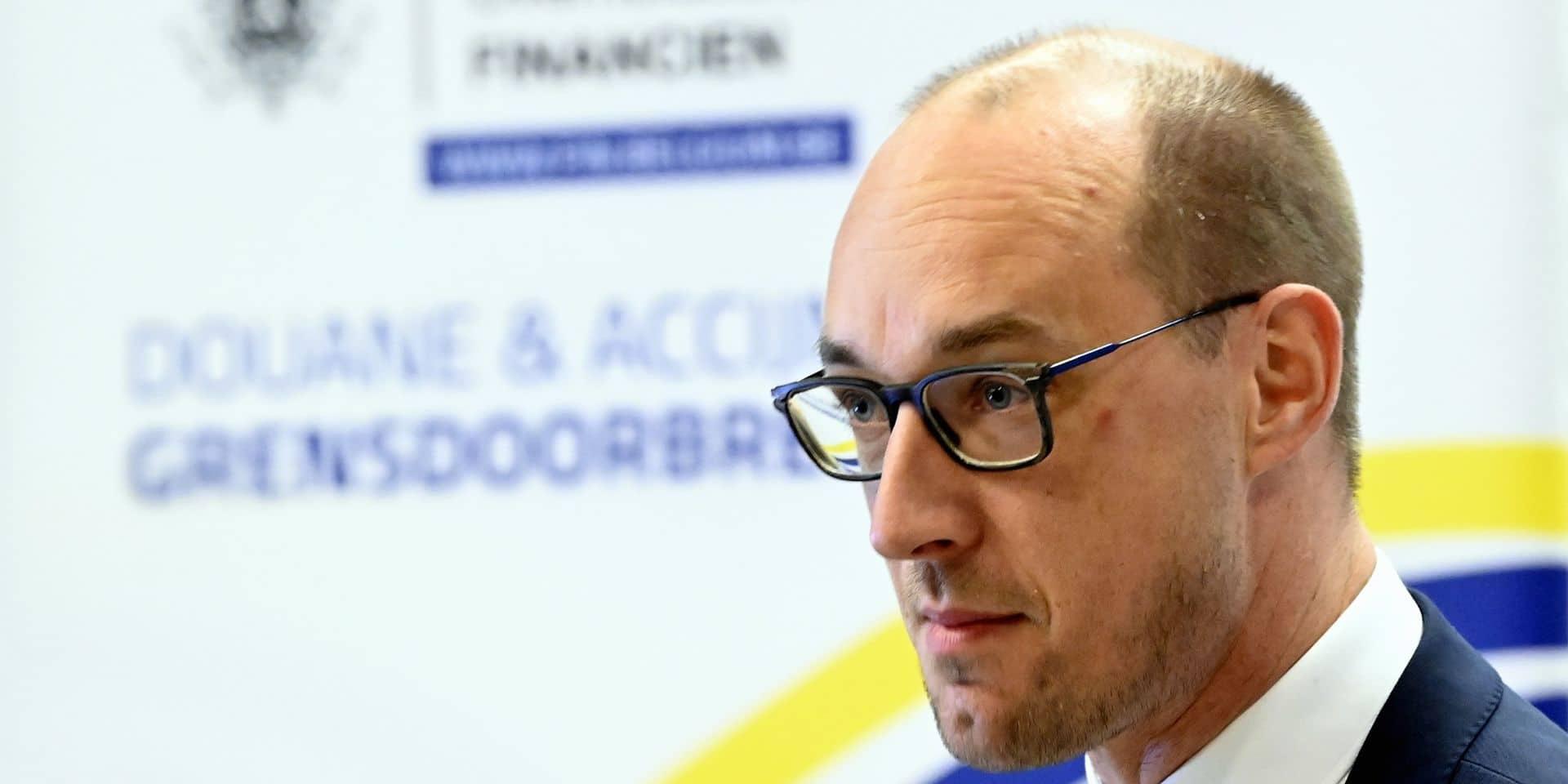 Vincent Van Peteghem, ministre des Finances.