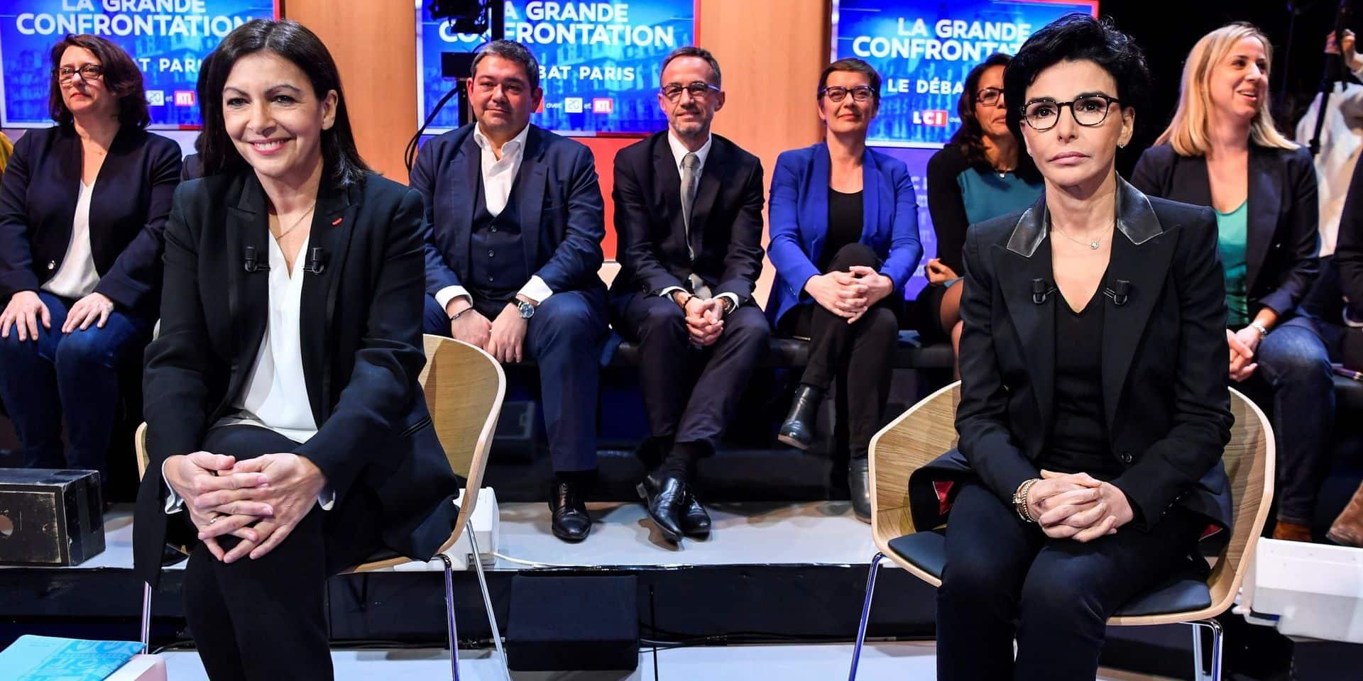 Municipales à Paris: pour la première fois, Rachida Dati passe en tête