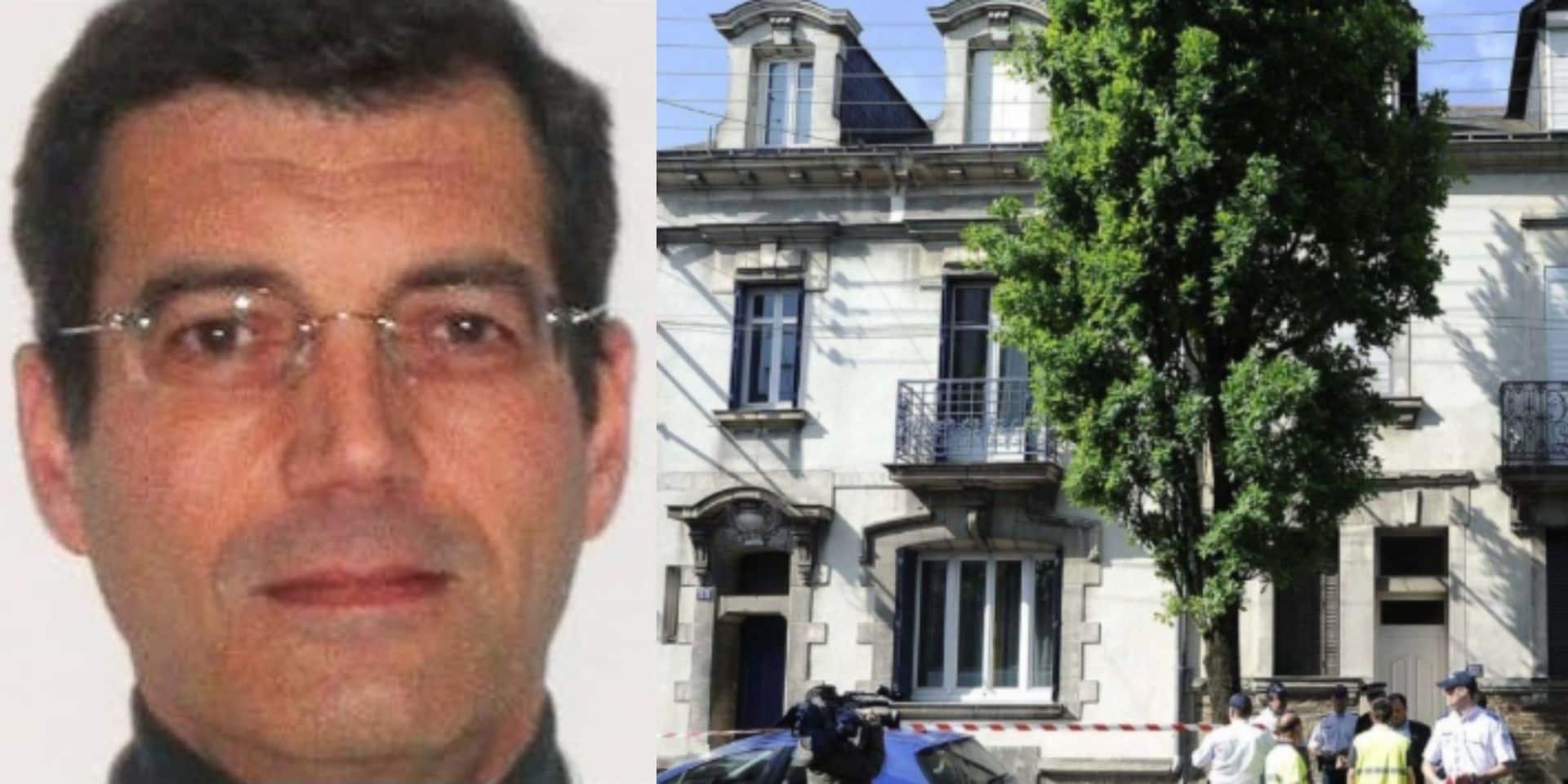 Méconnaissable, Xavier Dupont de Ligonnès, soupçonné d'avoir tué toute sa famille à Nantes en 2011, arrêté en Ecosse