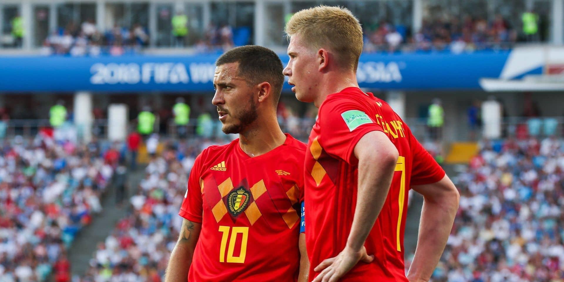 Kevin De Bruyne et Eden Hazard parmi les meilleurs meneurs de jeu de la décennie!