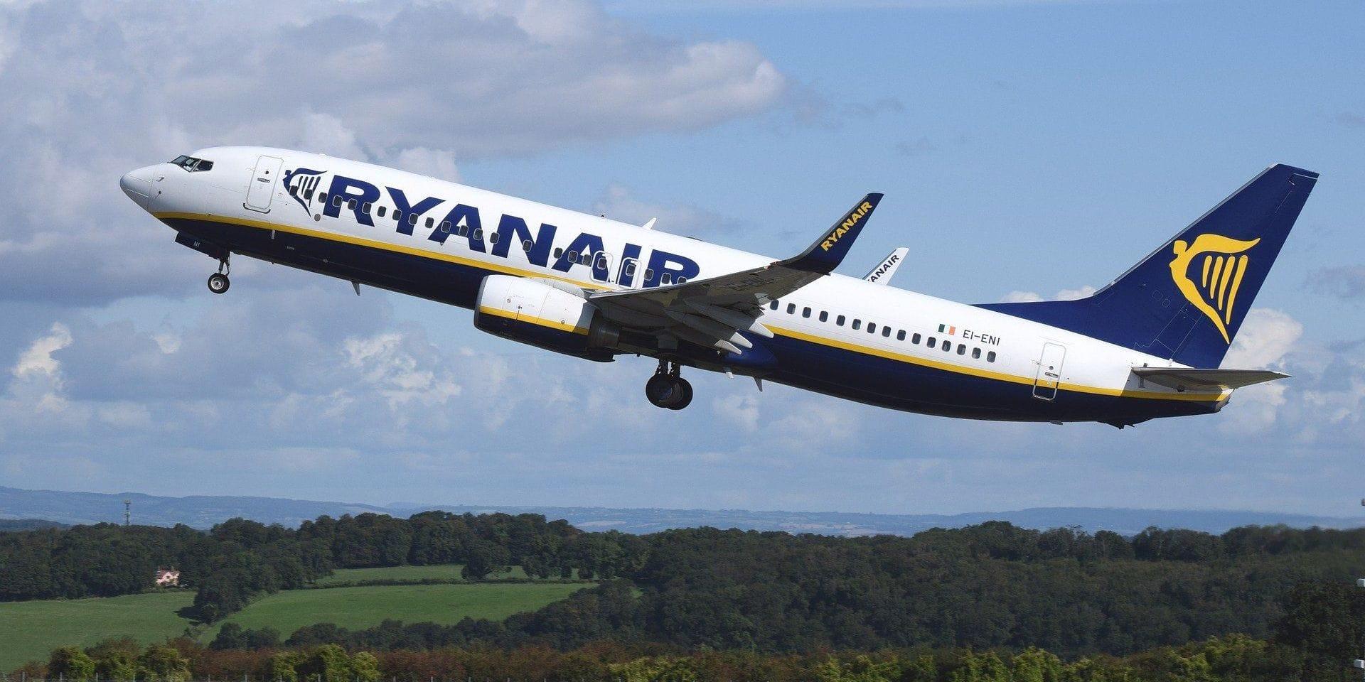 L'offre folle de Ryanair pour des vols en septembre et en octobre