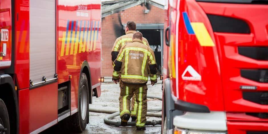 Quatre personnes sauvées d'un incendie à Neder-Over-Heembeek