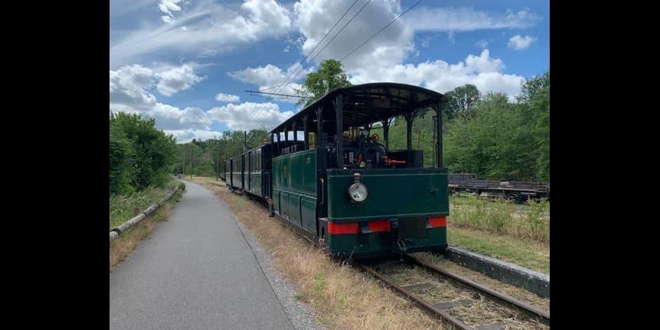 Le tram à vapeur reprend la route