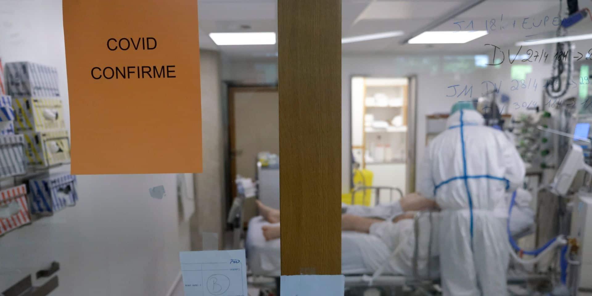 Coronavirus en Belgique : admissions et contaminations en baisse, mais pas les soins intensifs