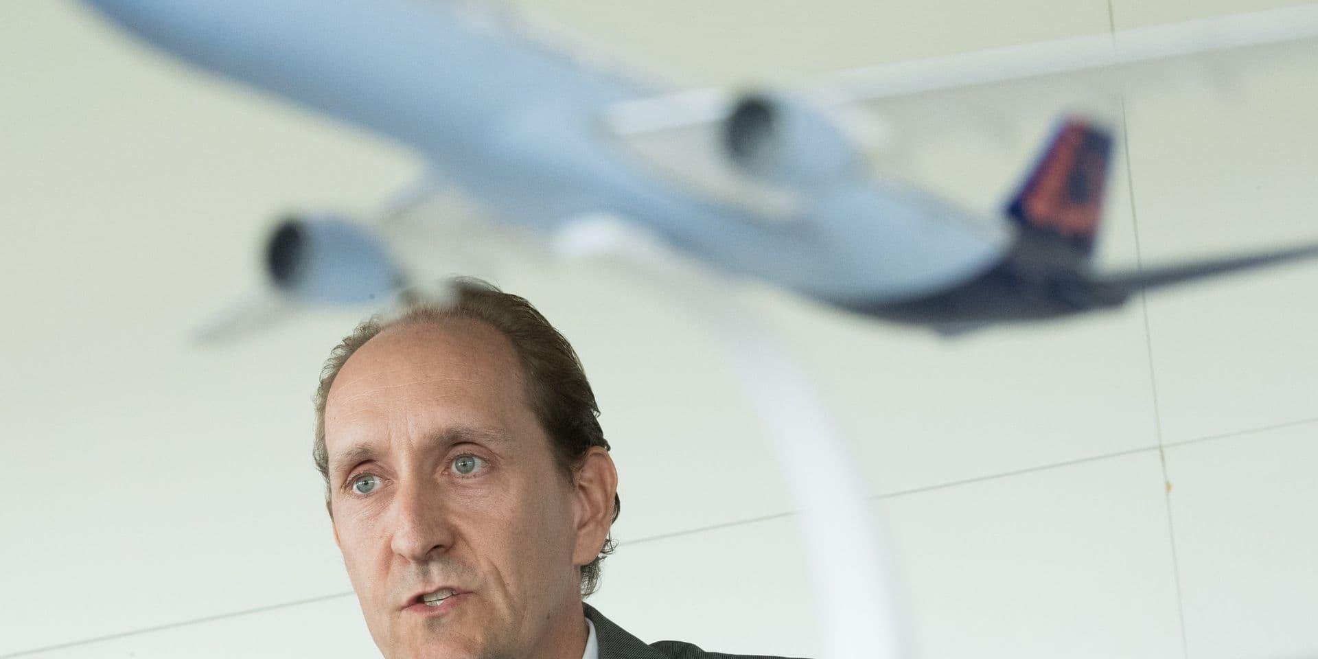 """Dieter Vranckx, """"l'homme idéal"""" pour devenir le nouveau CEO de Brussels Airlines"""