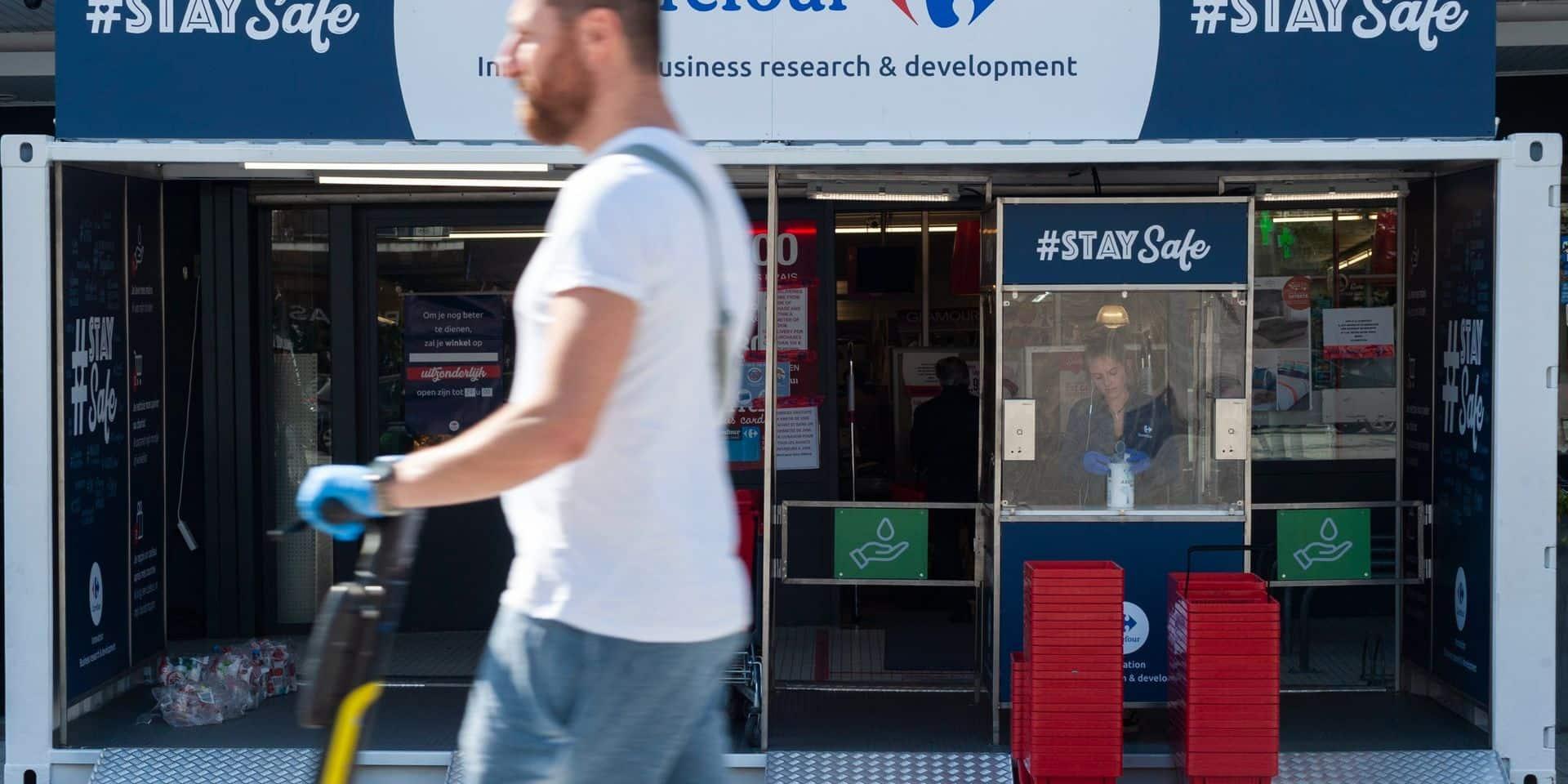 Carrefour augmente sa part de marché en Belgique