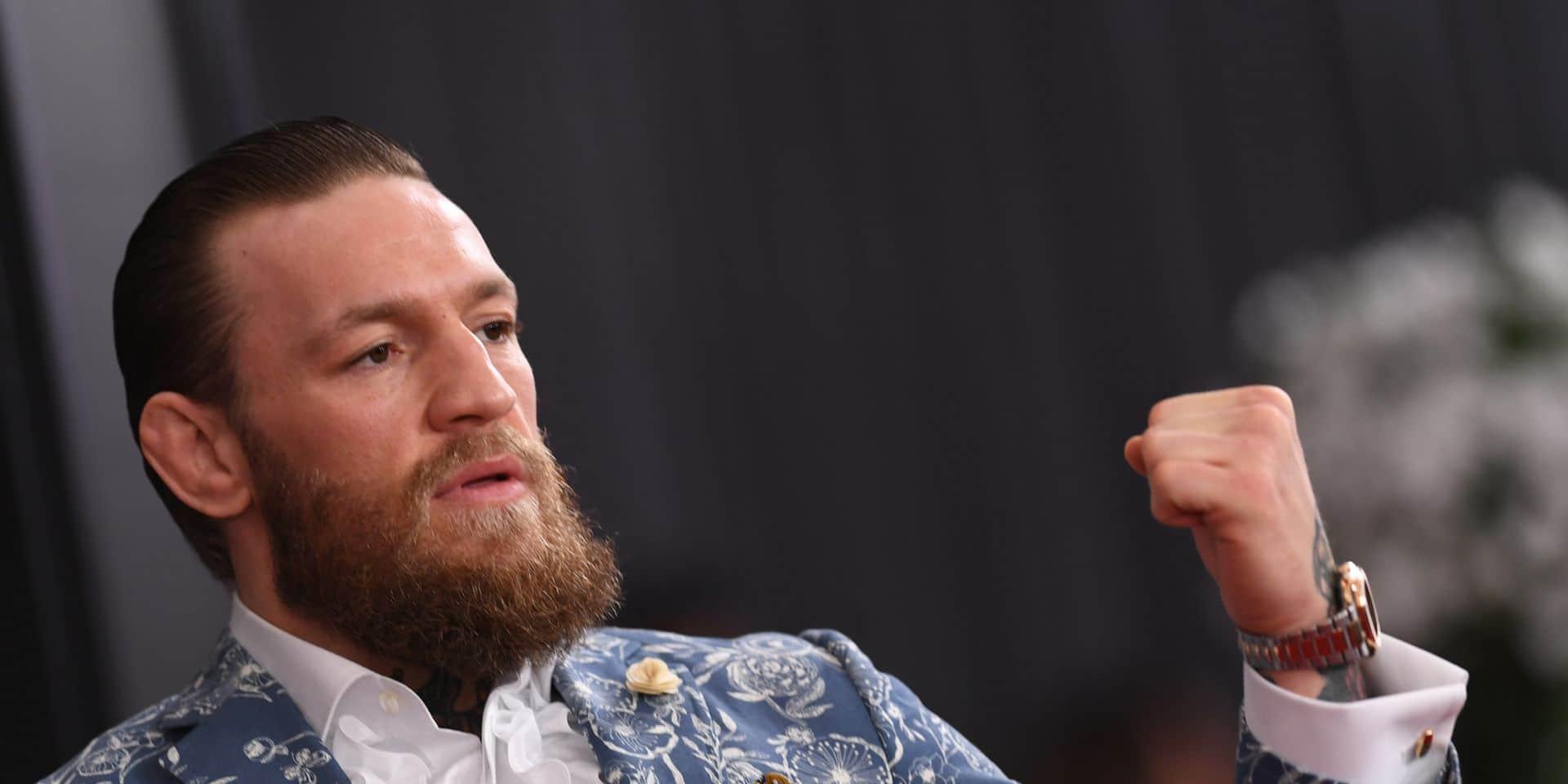Conor McGregor annonce son retour à la compétition en janvier