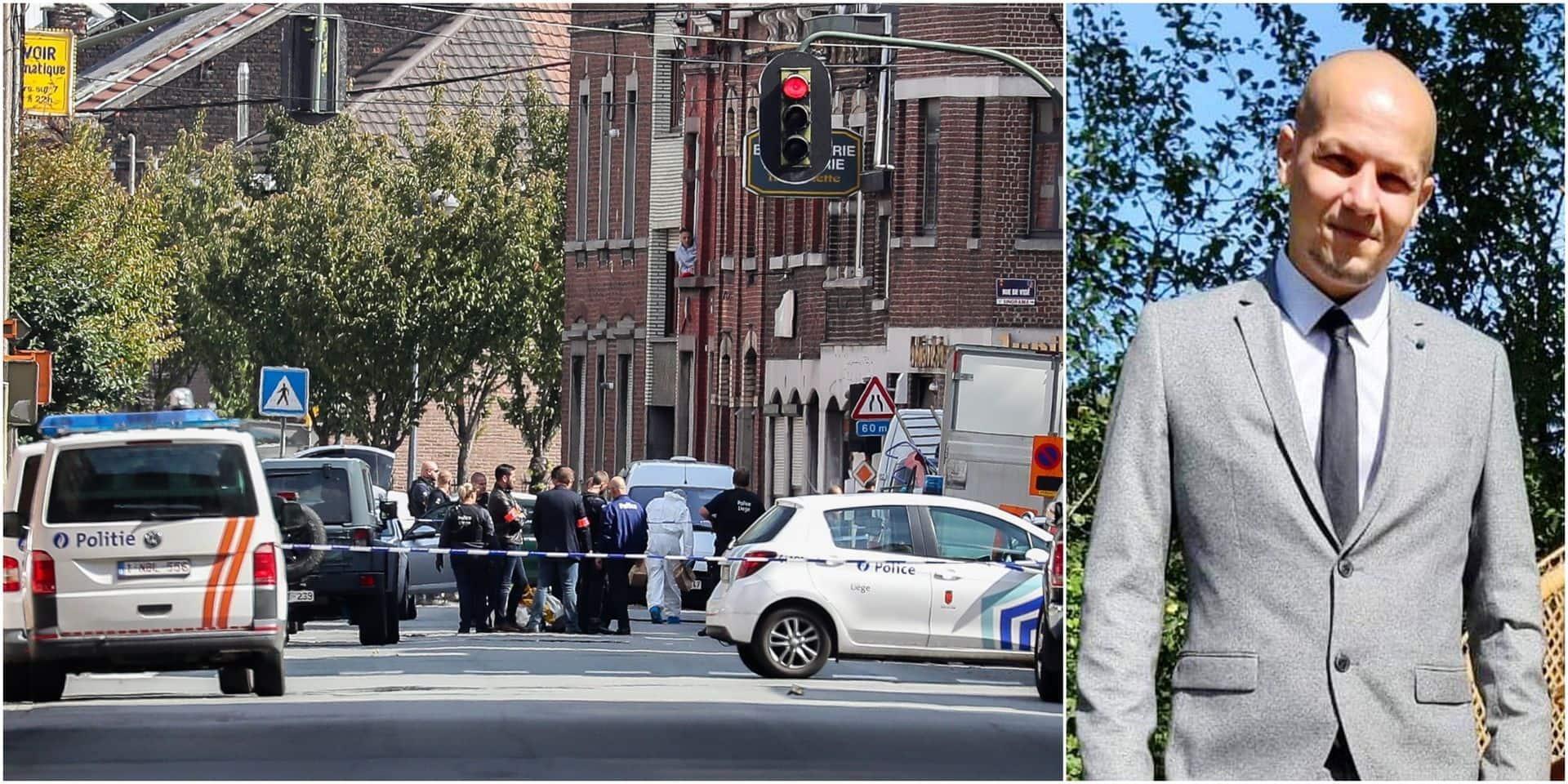 De bonnes nouvelles de Maxime Pans, le policier blessé par balle à Liège: il a quitté l'hôpital