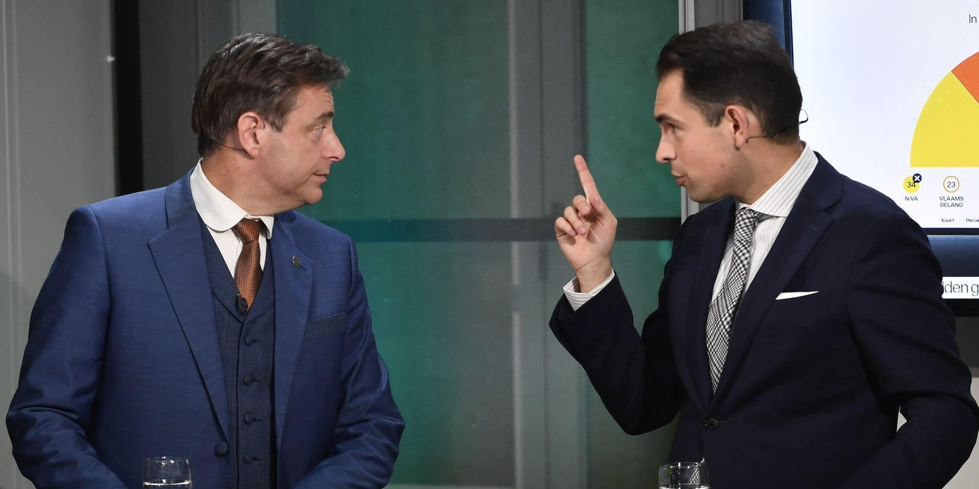 """De Wever: """"Une coalition avec le Vlaams Belang est impossible, même à l'avenir"""""""