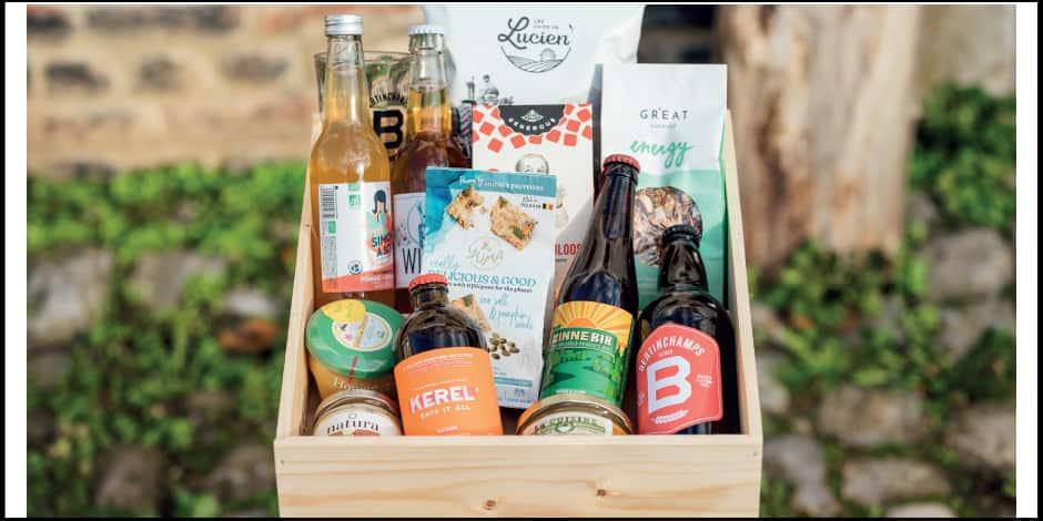 Concours : remportez une box gourmande remplie de produits belges
