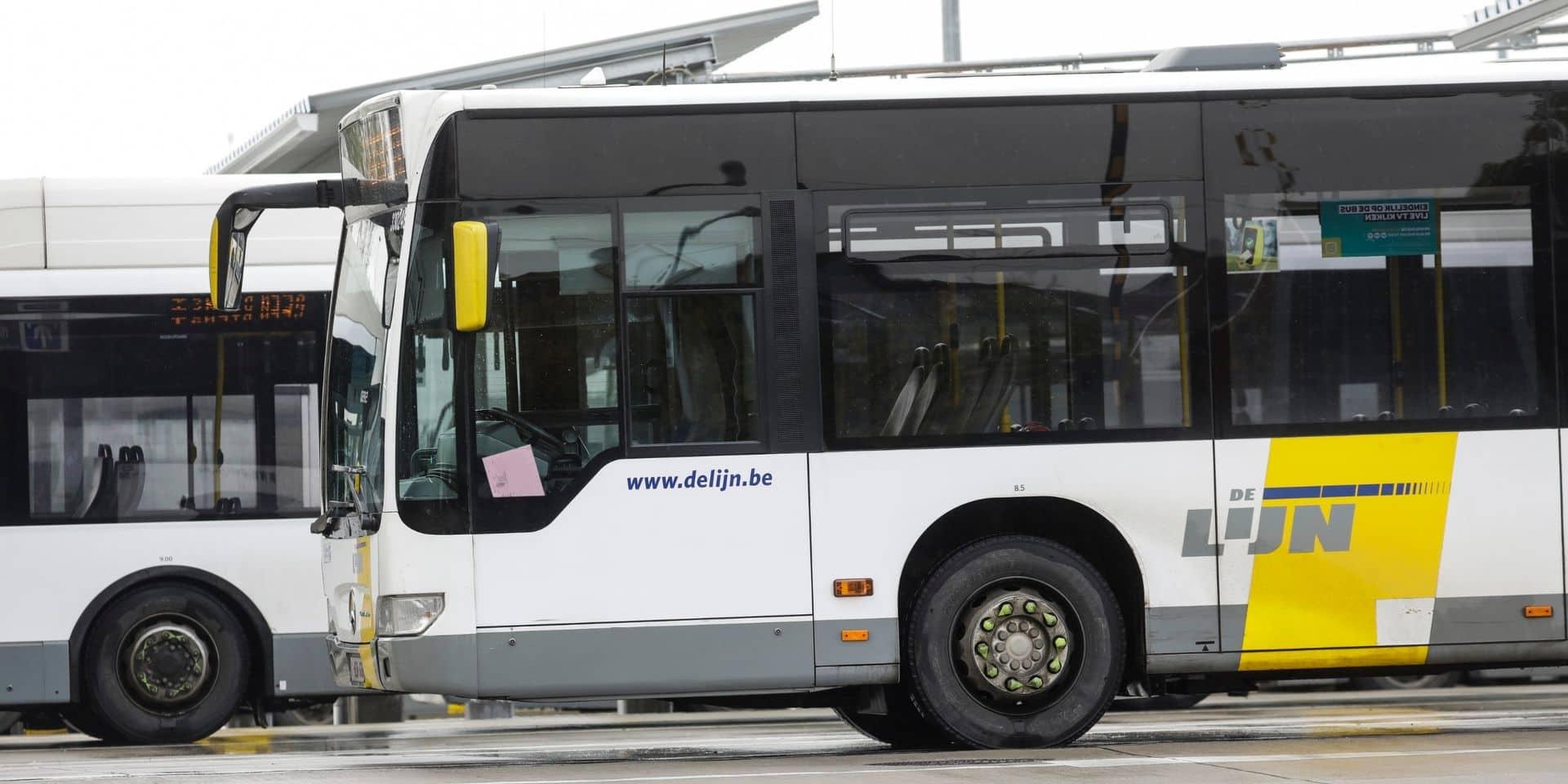 L'argent liquide banni des bus et trams De Lijn à partir du 1er juillet