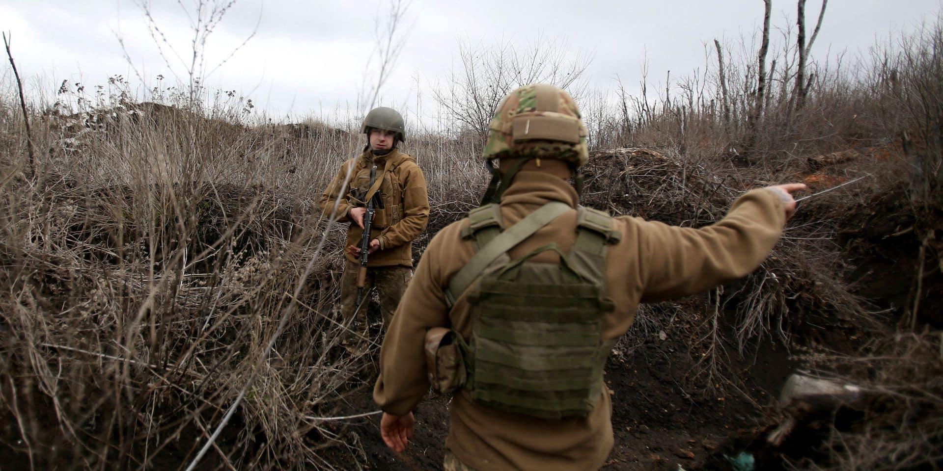"""Dans les tranchées d'Avdiivka, le Fort Alamo ukrainien: """"La stratégie russe est de provoquer le maximum de pertes chez nous à l'aide de tireurs d'élite"""""""