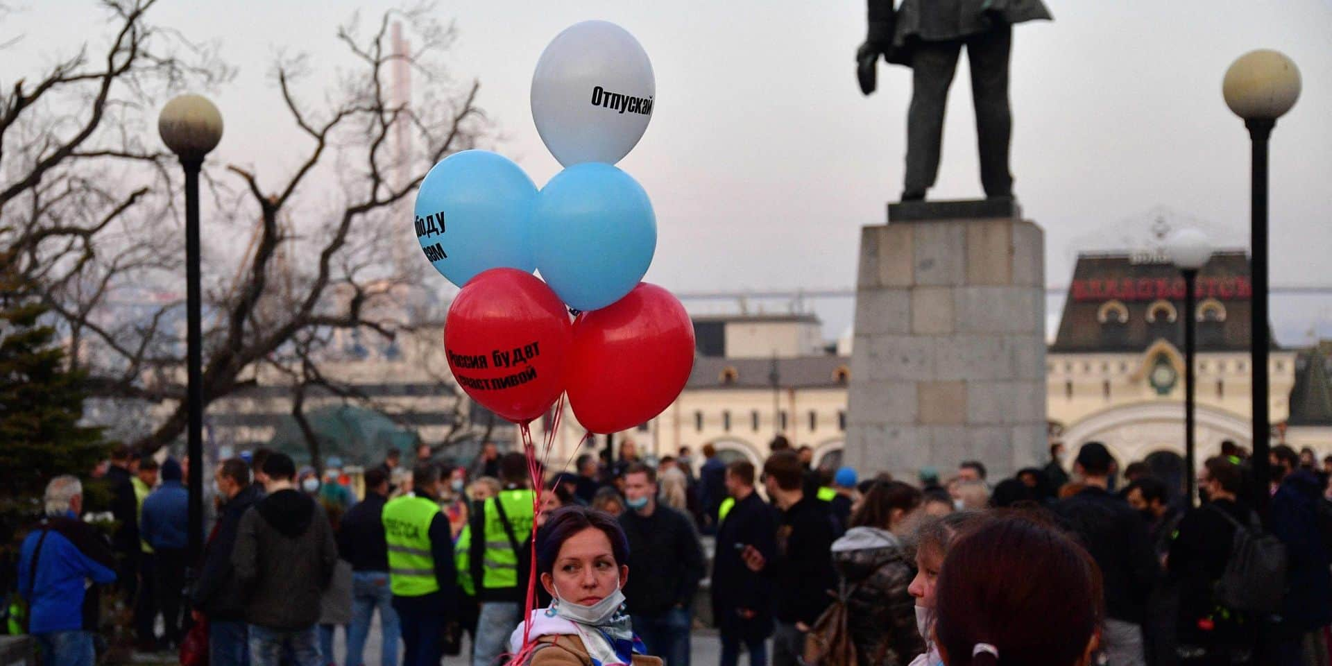 Au moins 180 arrestations en Russie en marge de manifestations pro-Navalny