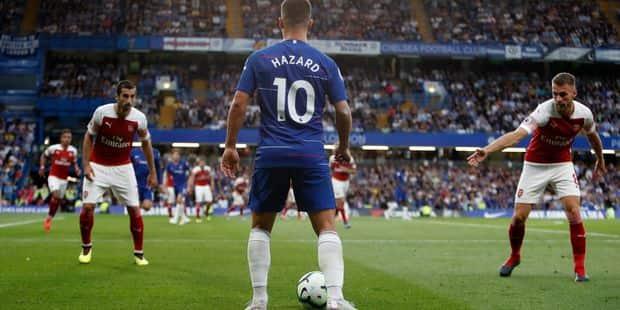 Belges à l'étranger: Eden Hazard monte au jeu et fait la différence face à Arsenal (VIDEO) - La Libre