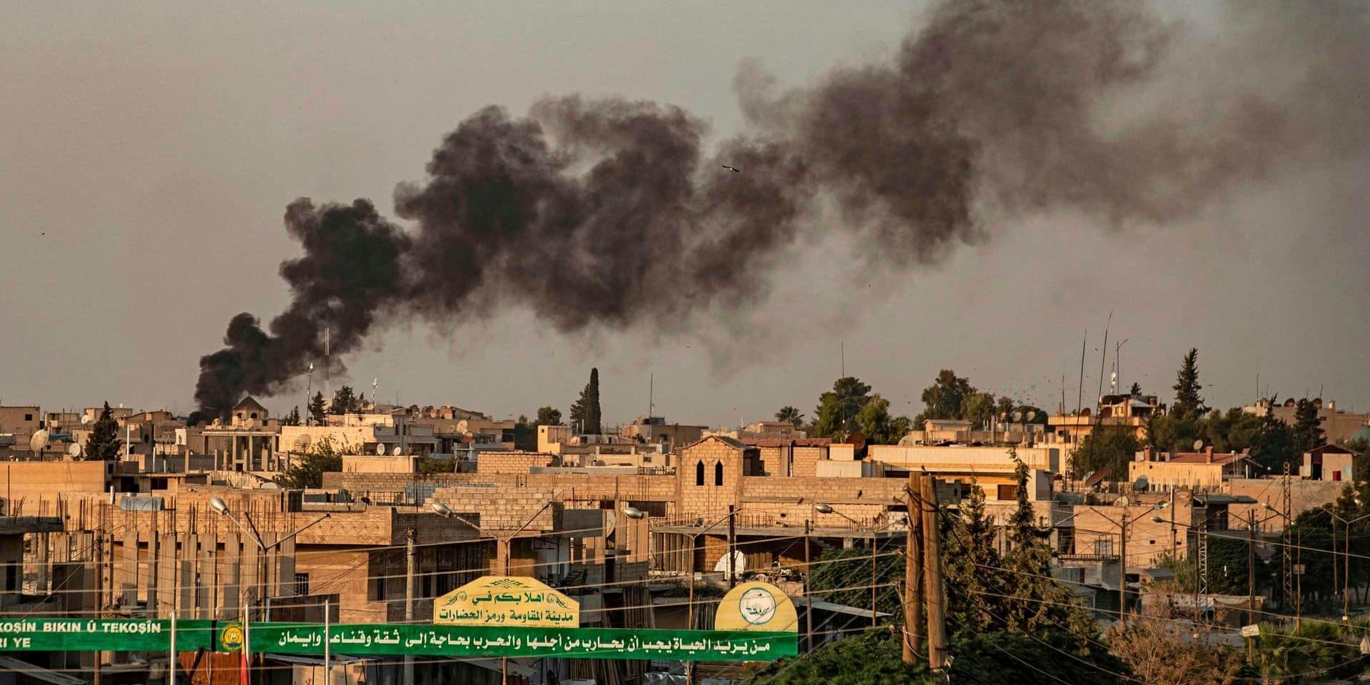 """""""Des avions de guerre frappent des zones civiles"""": Erdogan a commencé à bombarder les milices kurdes du nord de la Syrie"""