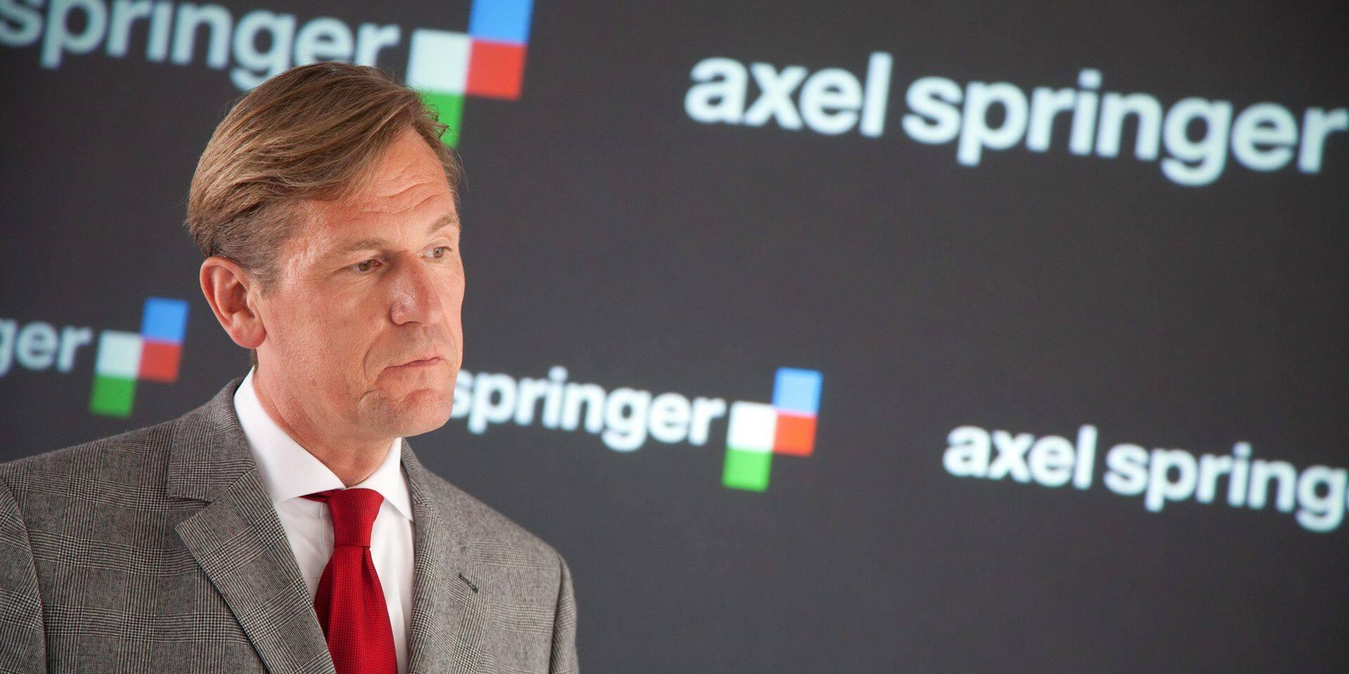 Axel Springer: recul du bénéfice au 2e trimestre, les petites annonces touchées par le ralentissement mondial
