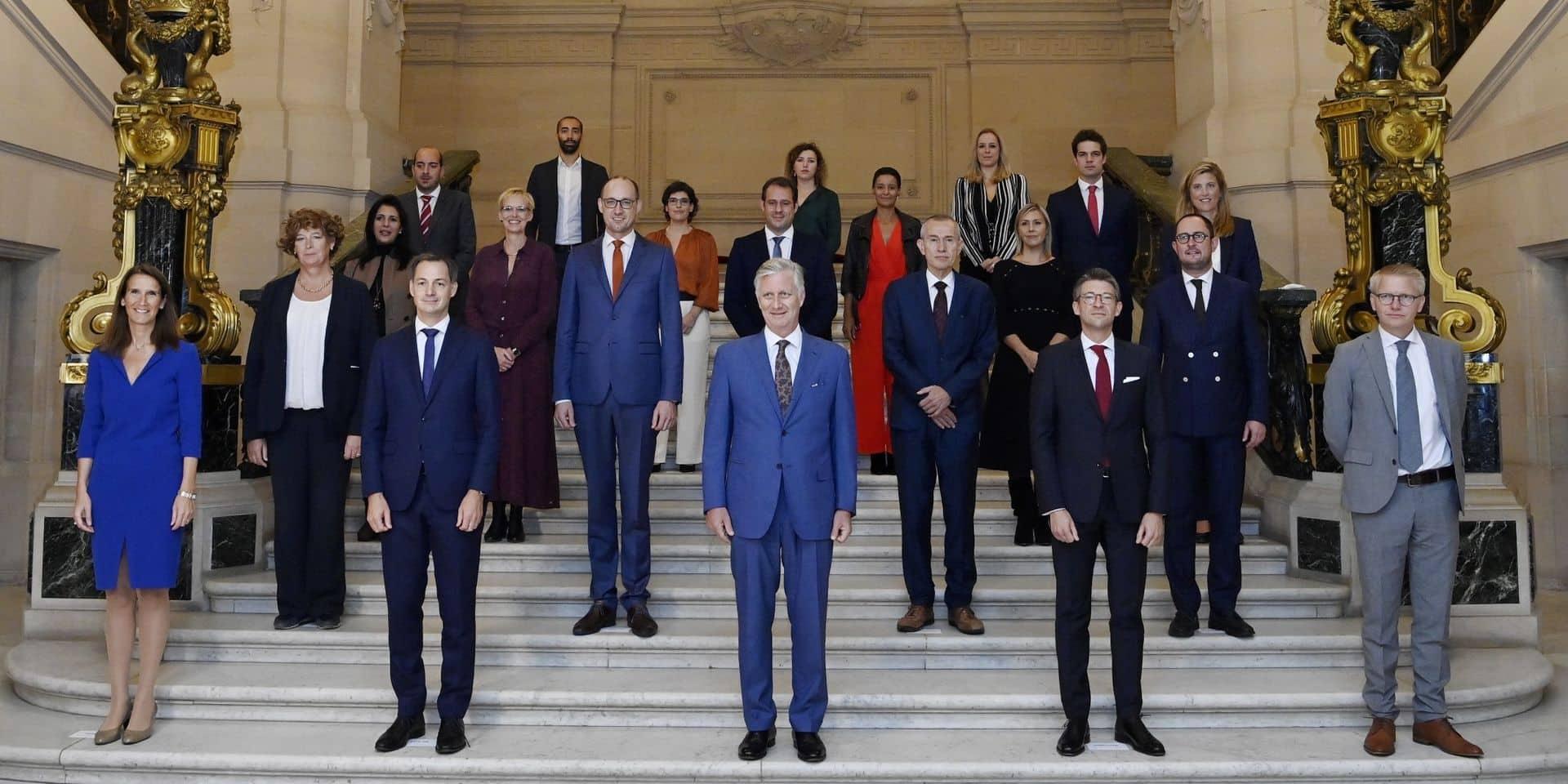 Qui Sont Les Vingt Ministres Et Secretaires D Etat Du Nouveau Gouvernement Federal Portraits La Libre