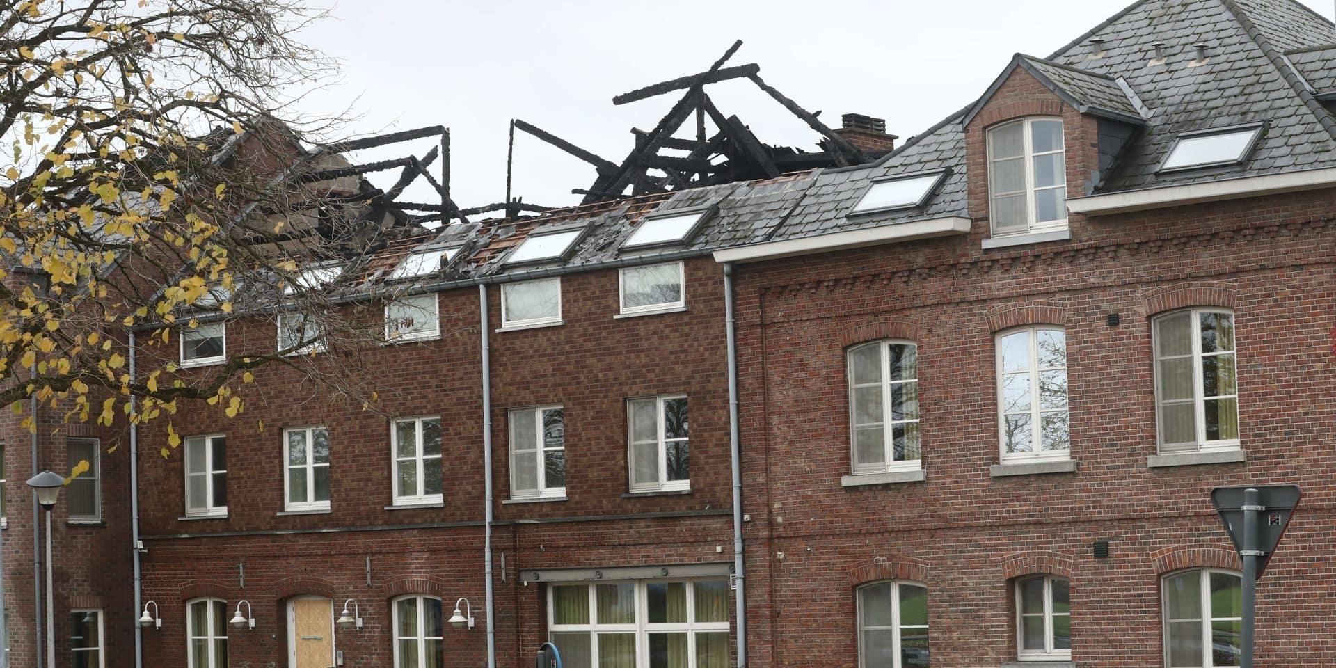 En 2019, un incendie avait ravagé le centre d'accueil de Bilzen.