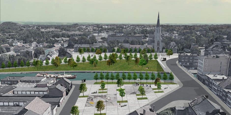 La Porte Ouest de Charleroi sera entièrement transformée dans les prochaines années