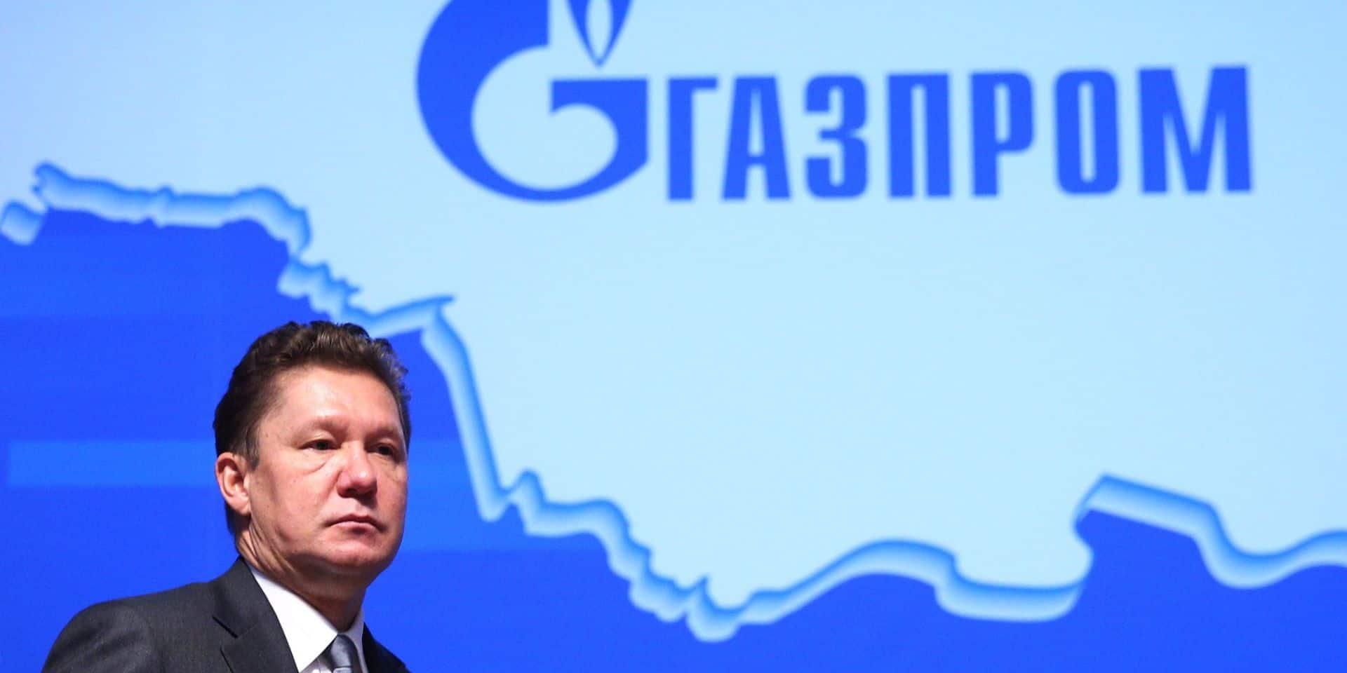 Gazprom annonce un bénéfice net divisé par 25 au premier semestre