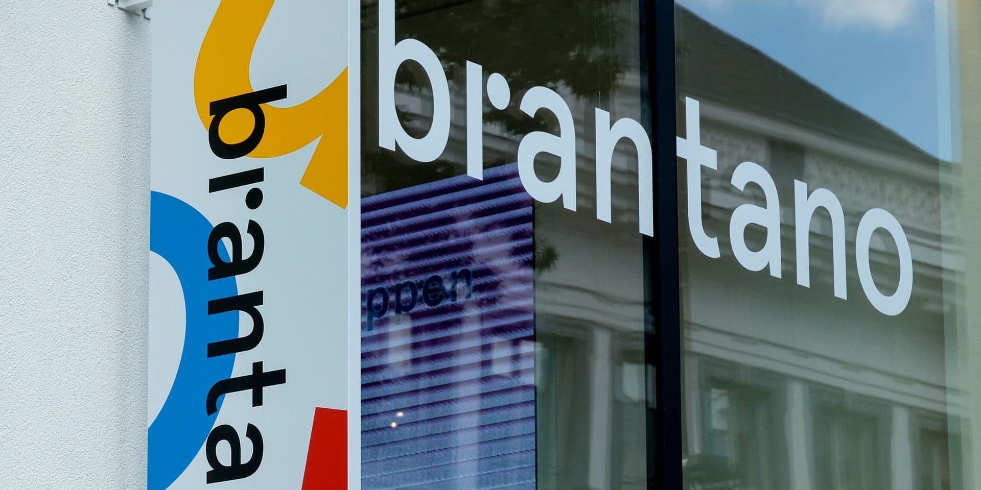 FNG: action devant le Brantano de Champion mardi