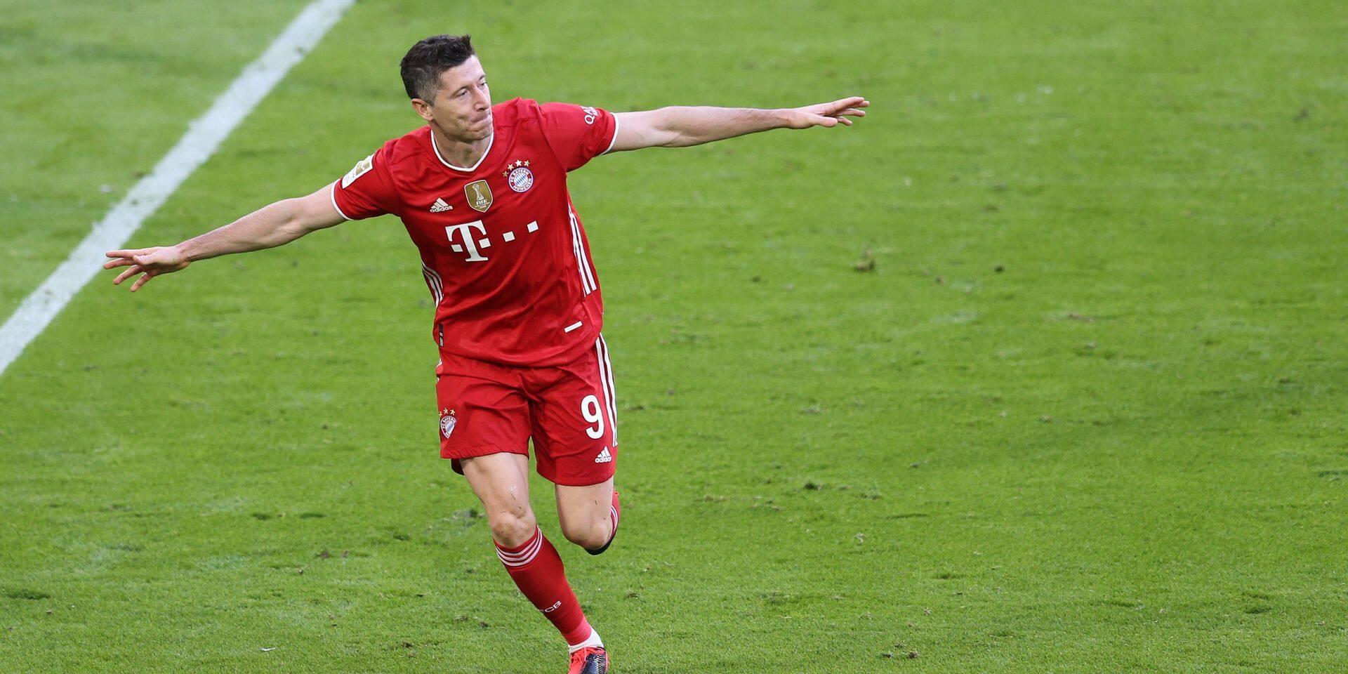 GES / Soccer / FC Bayern Munich - Borussia Monchengladbach, May 8th, 2021