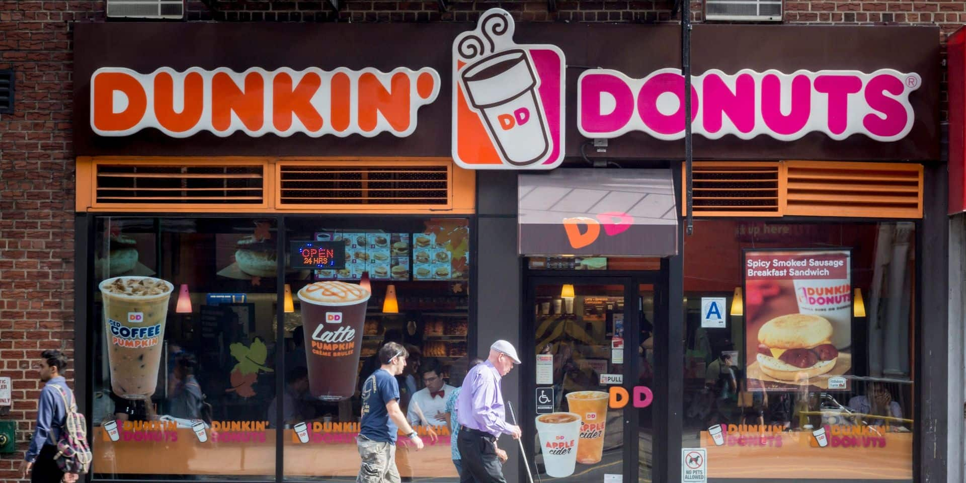 Dunkin Donuts Auswahl