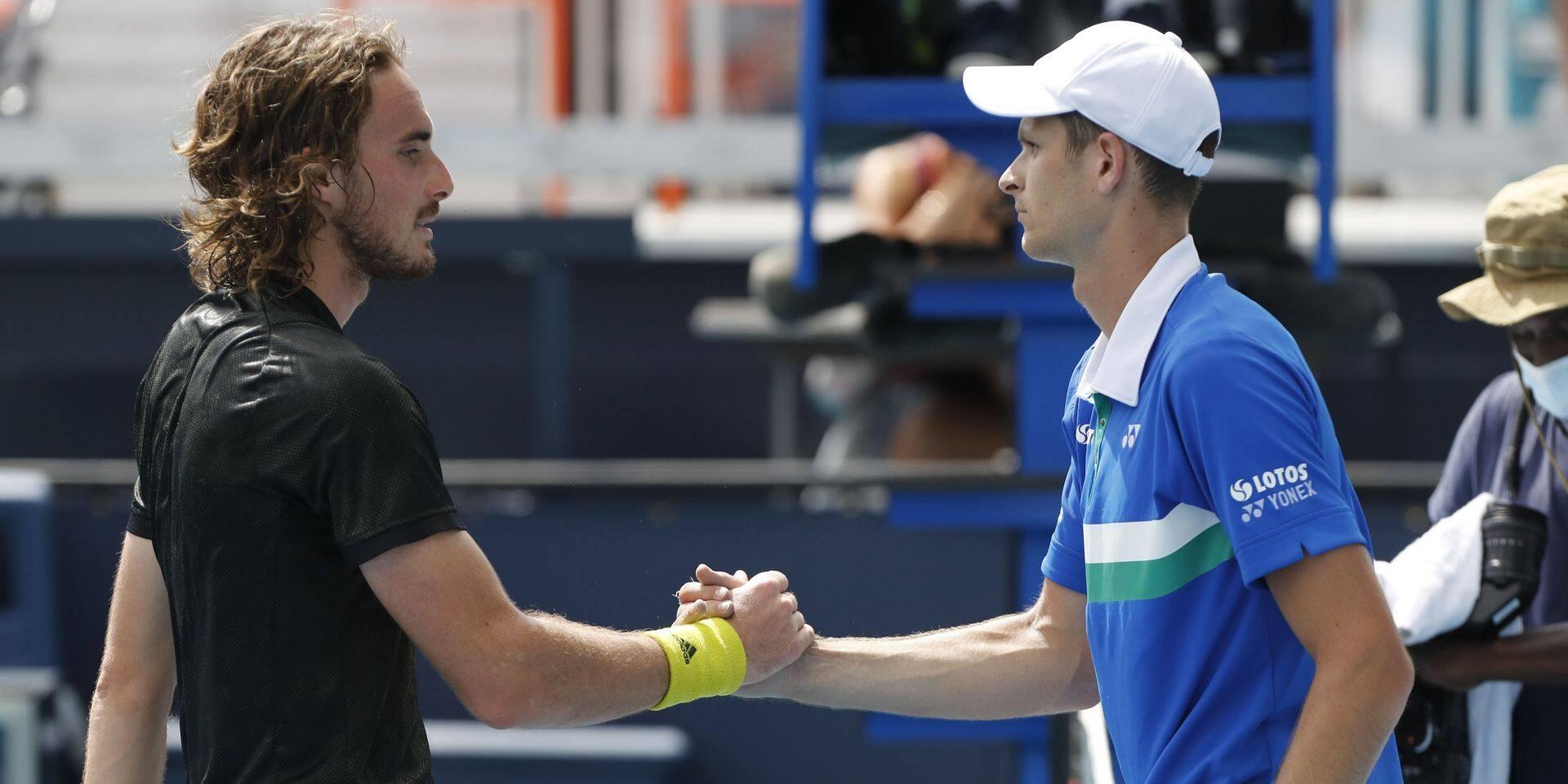 Masters de Miami : Tsitsipas trépasse, battu par Hurkacz qui file en demi-finale