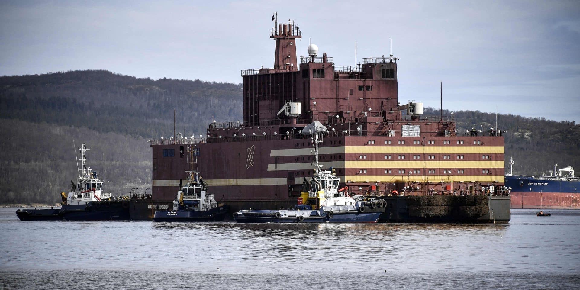 Russie: la première centrale nucléaire flottante au monde dans l'Arctique
