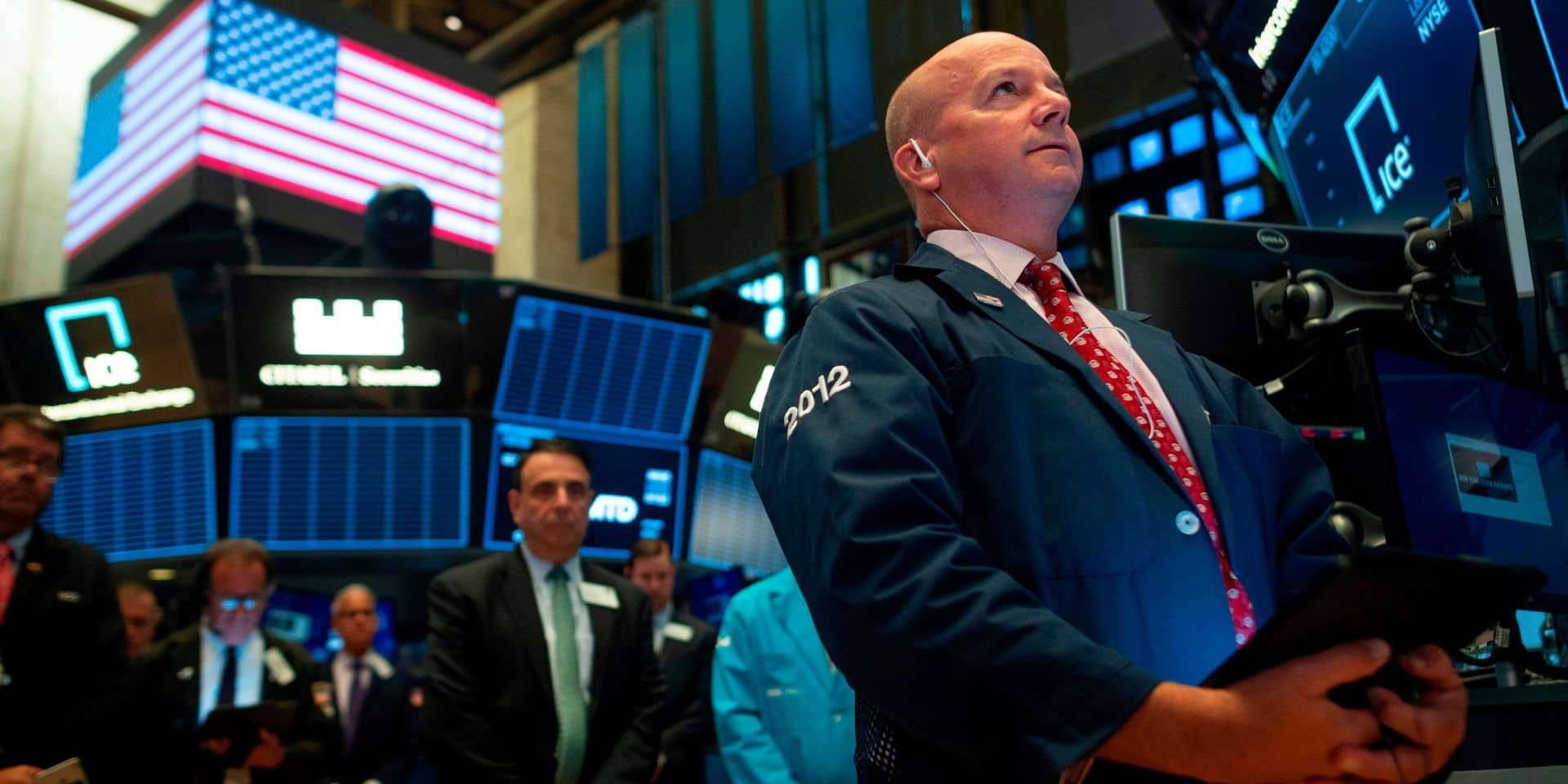 Wall Street encaisse sa pire journée de l'année