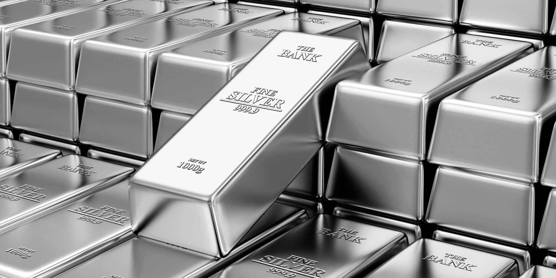 L'argent vaut aussi son pesant… d'or pour l'investisseur (INFOGRAPHIE)