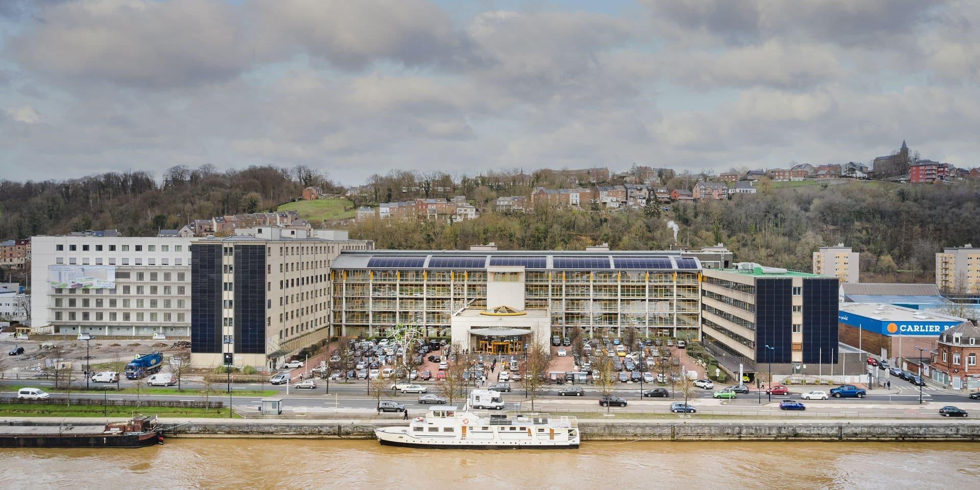 Namur: le CHR Site Meuse devient un hôpital durable