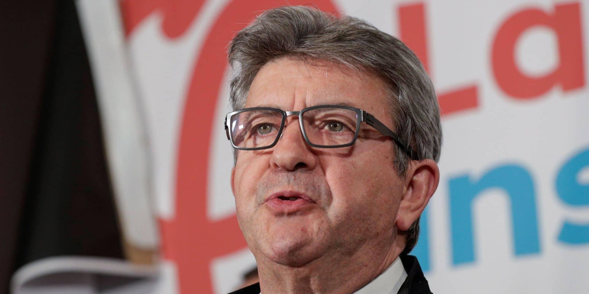 Mélenchon annonce une plainte après une vidéo simulant le meurtre d'un électeur LFI