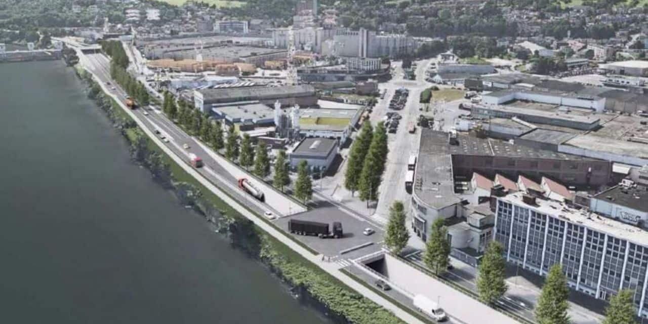 Des aménagements pour le boulevard urbain à Liège